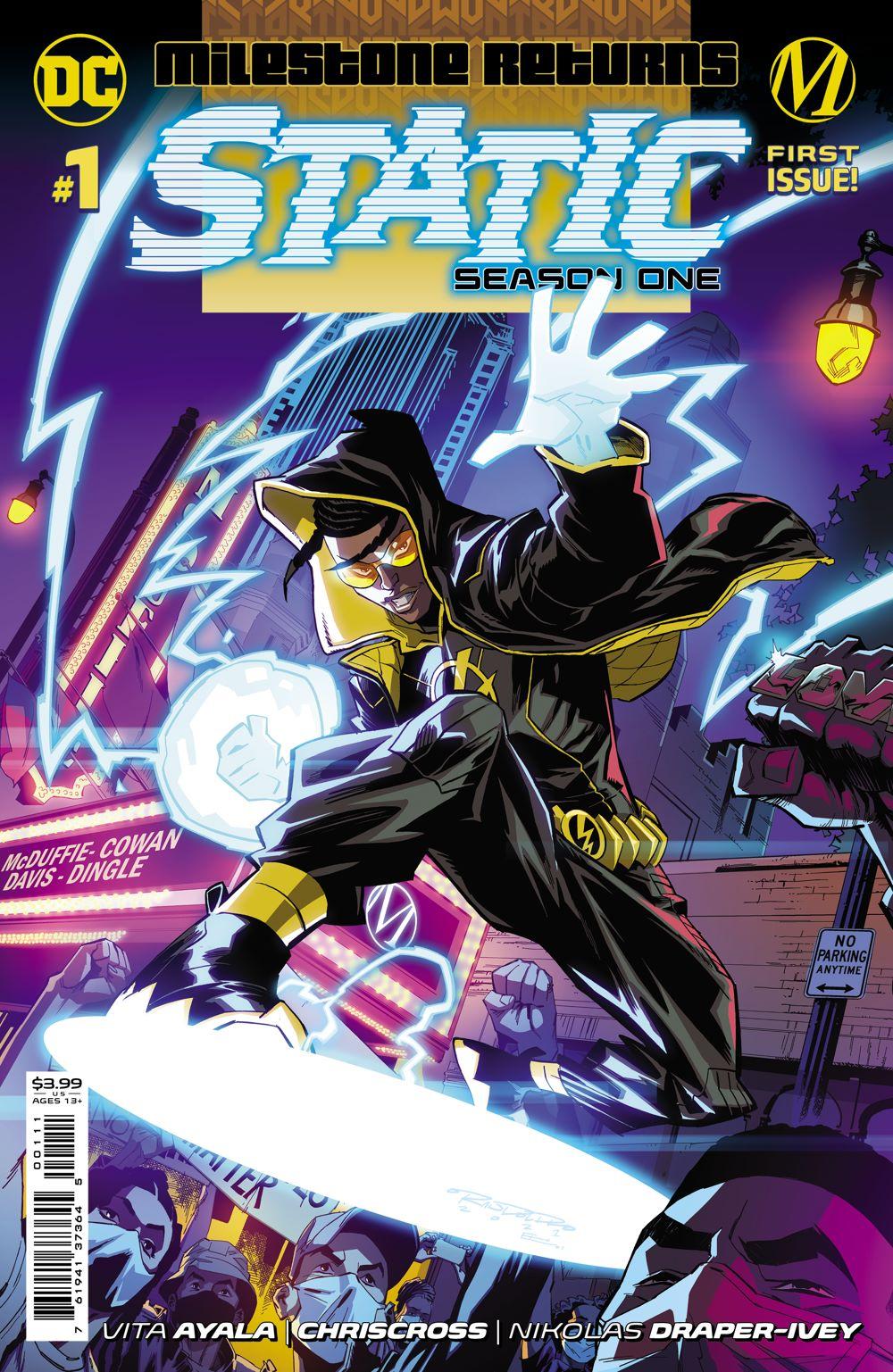 STATIC_S1_Cv1 DC Comics July 2021 Solicitations