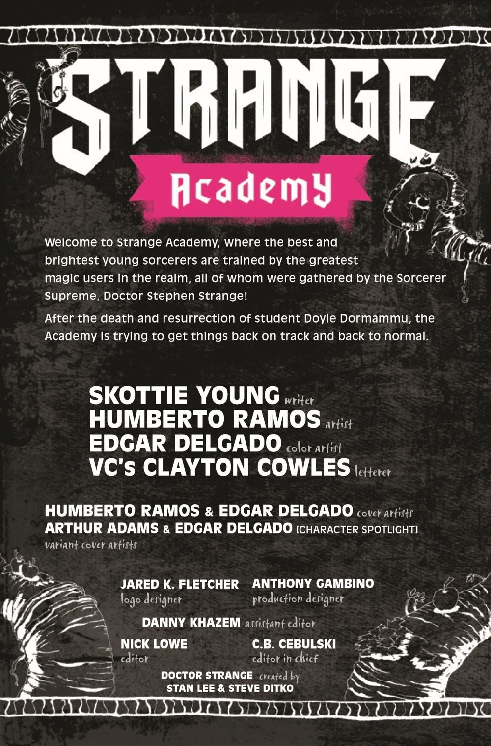 STRACADEMY2020010_Preview-2 ComicList Previews: STRANGE ACADEMY #10