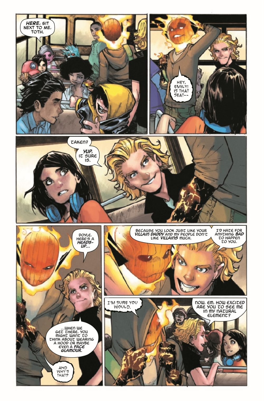 STRACADEMY2020010_Preview-4 ComicList Previews: STRANGE ACADEMY #10