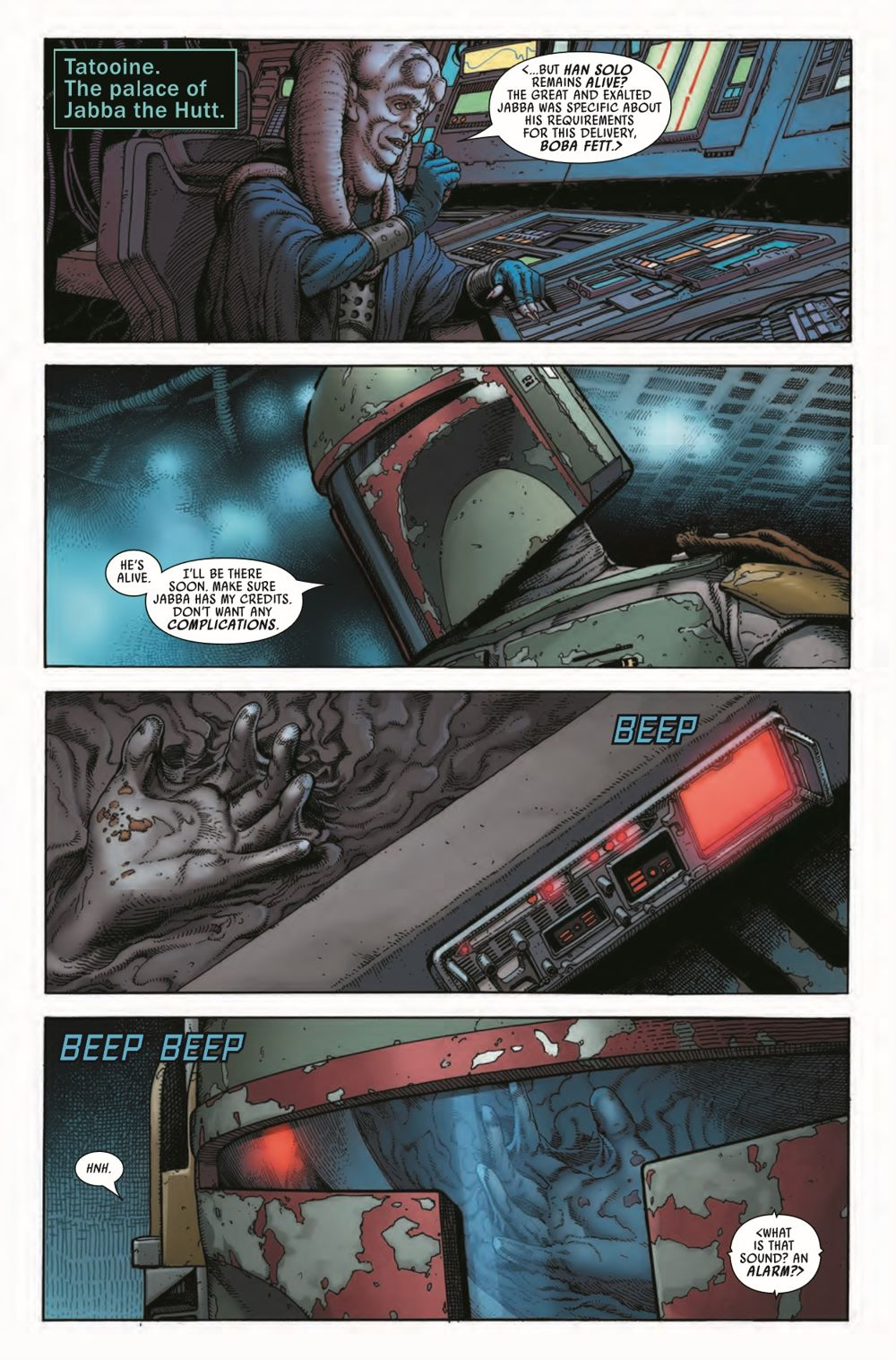 STWWAROTBHA2021001_Preview-4 ComicList Previews: STAR WARS WAR OF THE BOUNTY HUNTERS ALPHA #1
