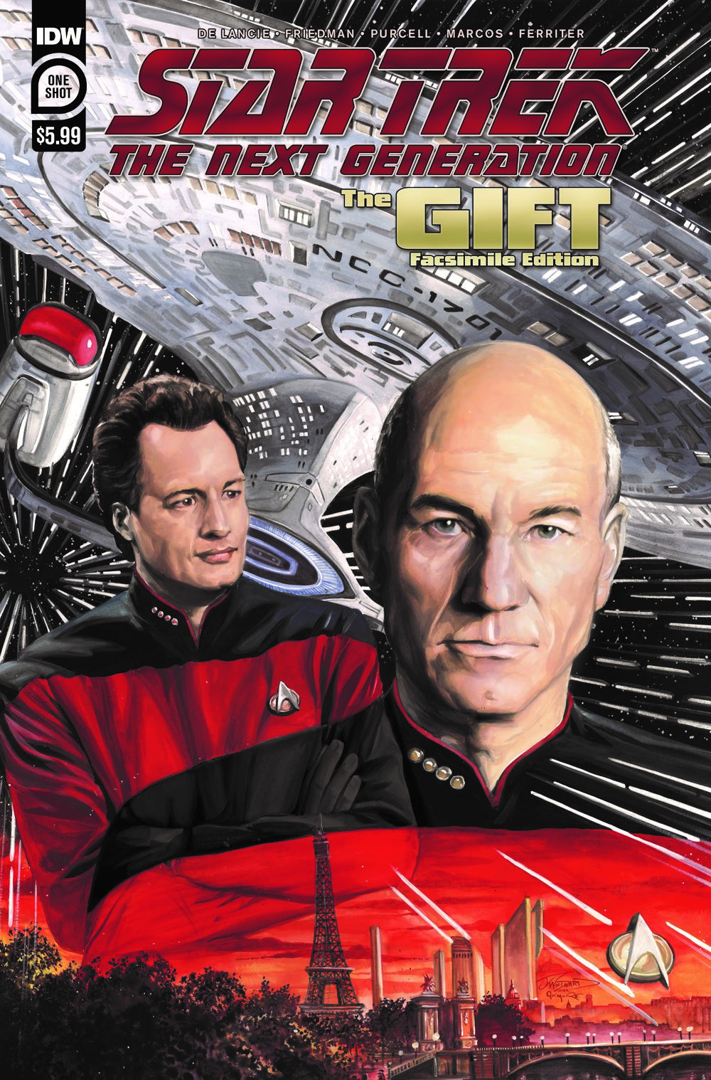 ST_TNG-TheGift-cover ComicList Previews: STAR TREK THE NEXT GENERATION THE GIFT #1