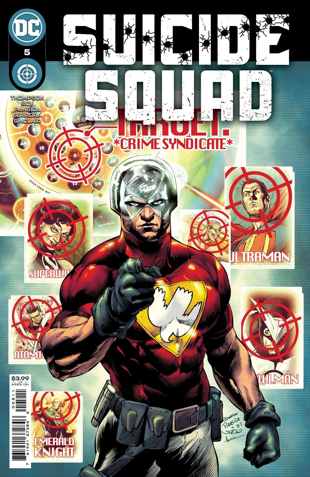 SUICIDESQUAD_Cv5 DC Comics July 2021 Solicitations