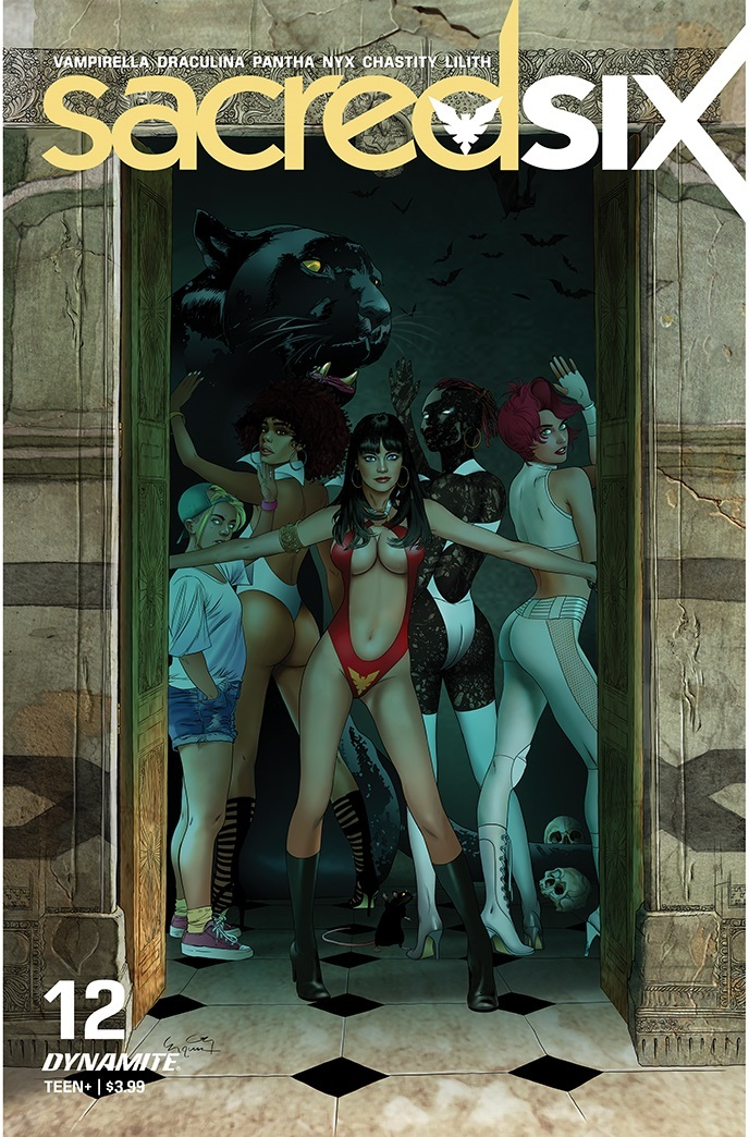 SacredSix-12-12051-E-Gunduz Dynamite Entertainment July 2021 Solicitations