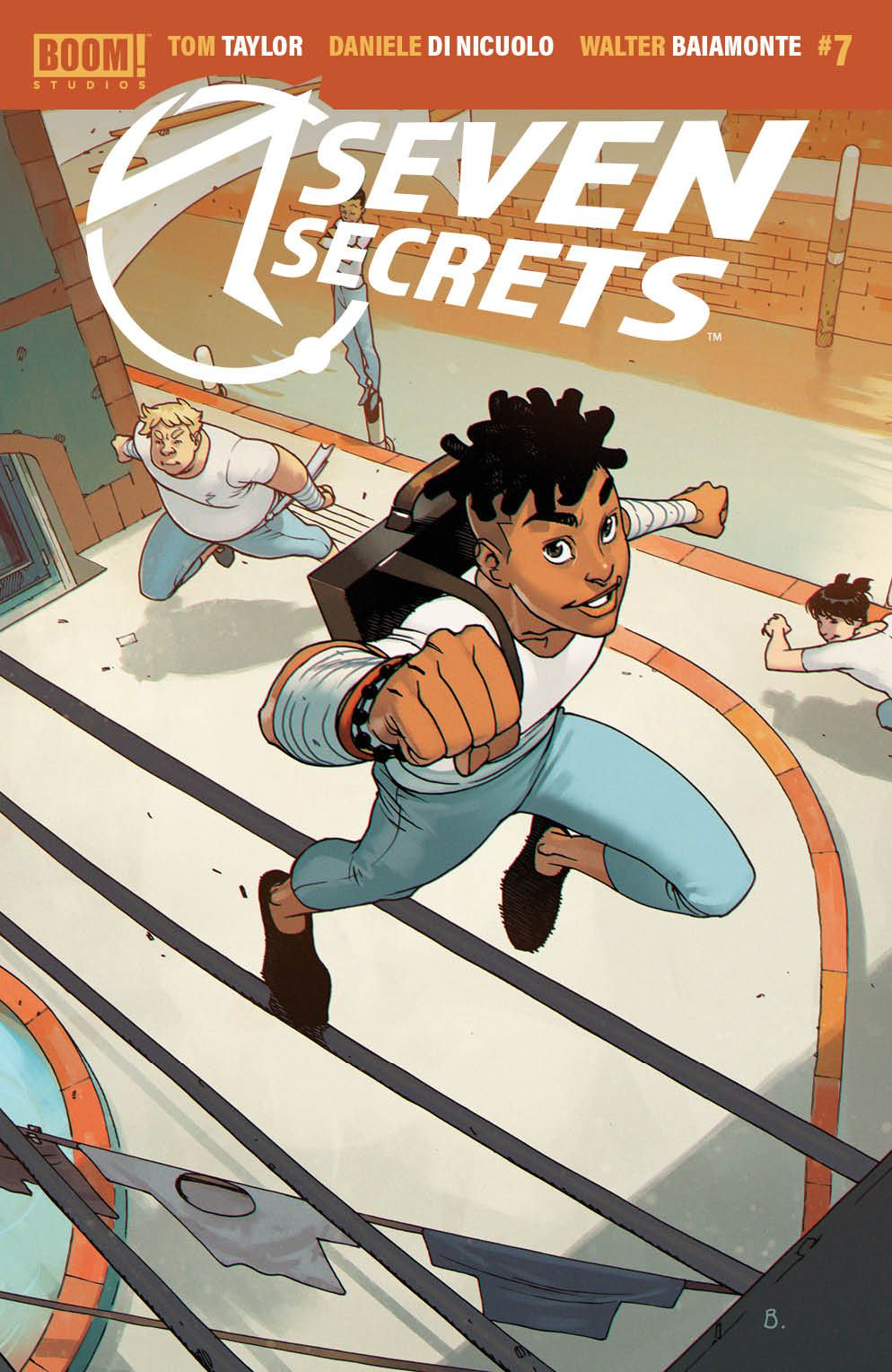 SevenSecrets_007_Cover_B_Variant ComicList Previews: SEVEN SECRETS #7