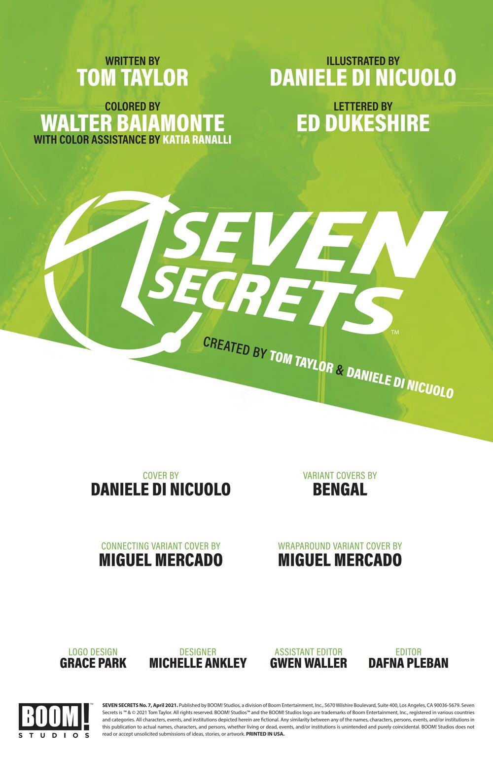 SevenSecrets_007_PRESS_2 ComicList Previews: SEVEN SECRETS #7