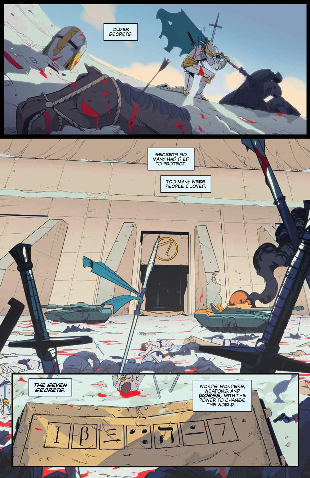 SevenSecrets_v1_SC_PRESS_8 ComicList Previews: SEVEN SECRETS VOLUME 1 TP