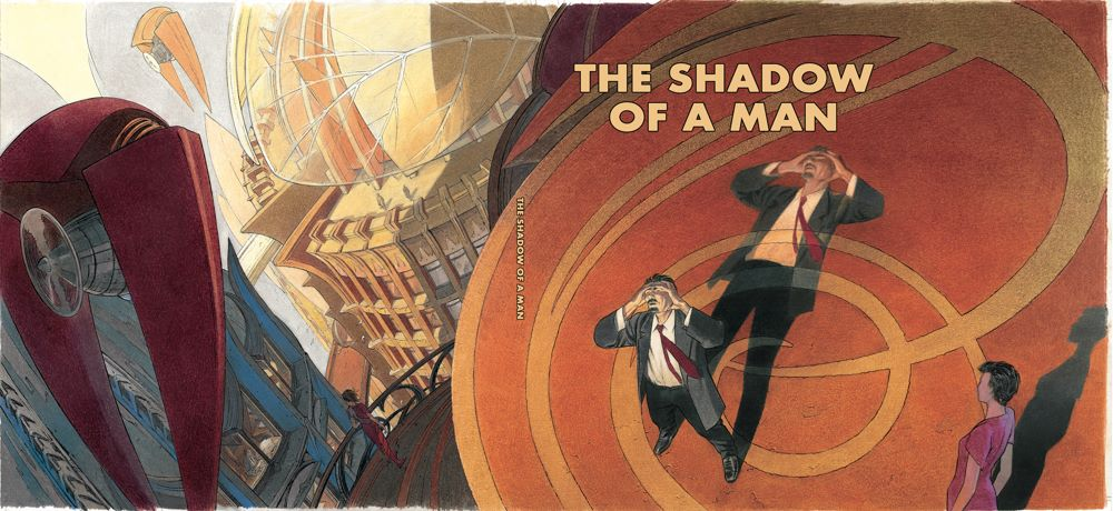 Shadow-of-a-Man-cover ComicList: IDW Publishing New Releases for 04/07/2021