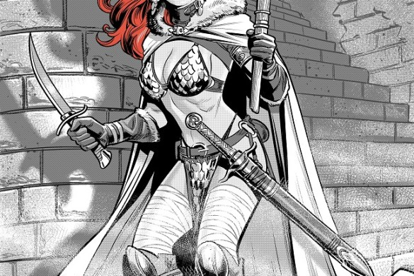 Sonja_BWR_01FLAT RED SONJA: BLACK, WHITE, RED to feature the finest talent