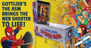 Spiderman-Pinball-300x157 Gottlieb's Amazing Spider-Man Brings the Web Shooter to Life!