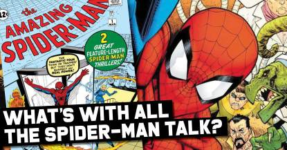 Spiderman-300x157 What's With all the Spider-Man Talk?