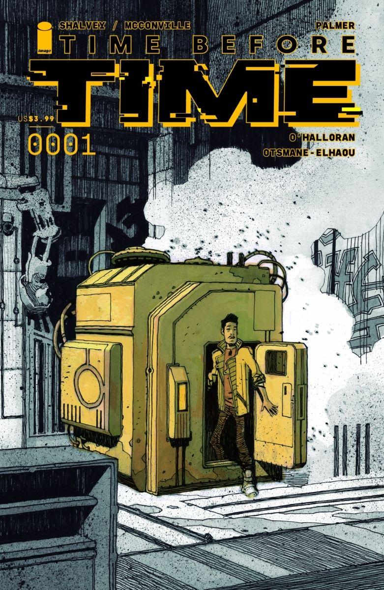 TBT-01_cvrC_fc_c6815a0147f8285e3b5042ebb3626151 Image Comics releases Gabriel Walta TIME BEFORE TIME cover