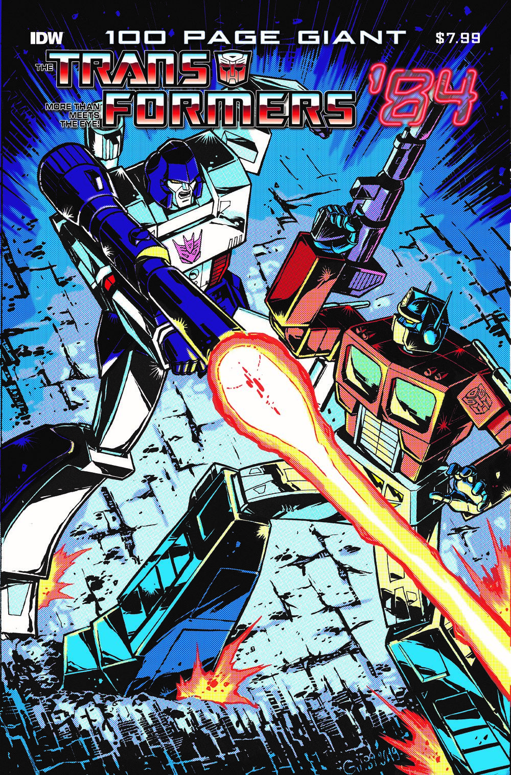 TF84_100PG_CVR ComicList Previews: TRANSFORMERS '84 LEGENDS AND RUMORS 100-PAGE GIANT #1