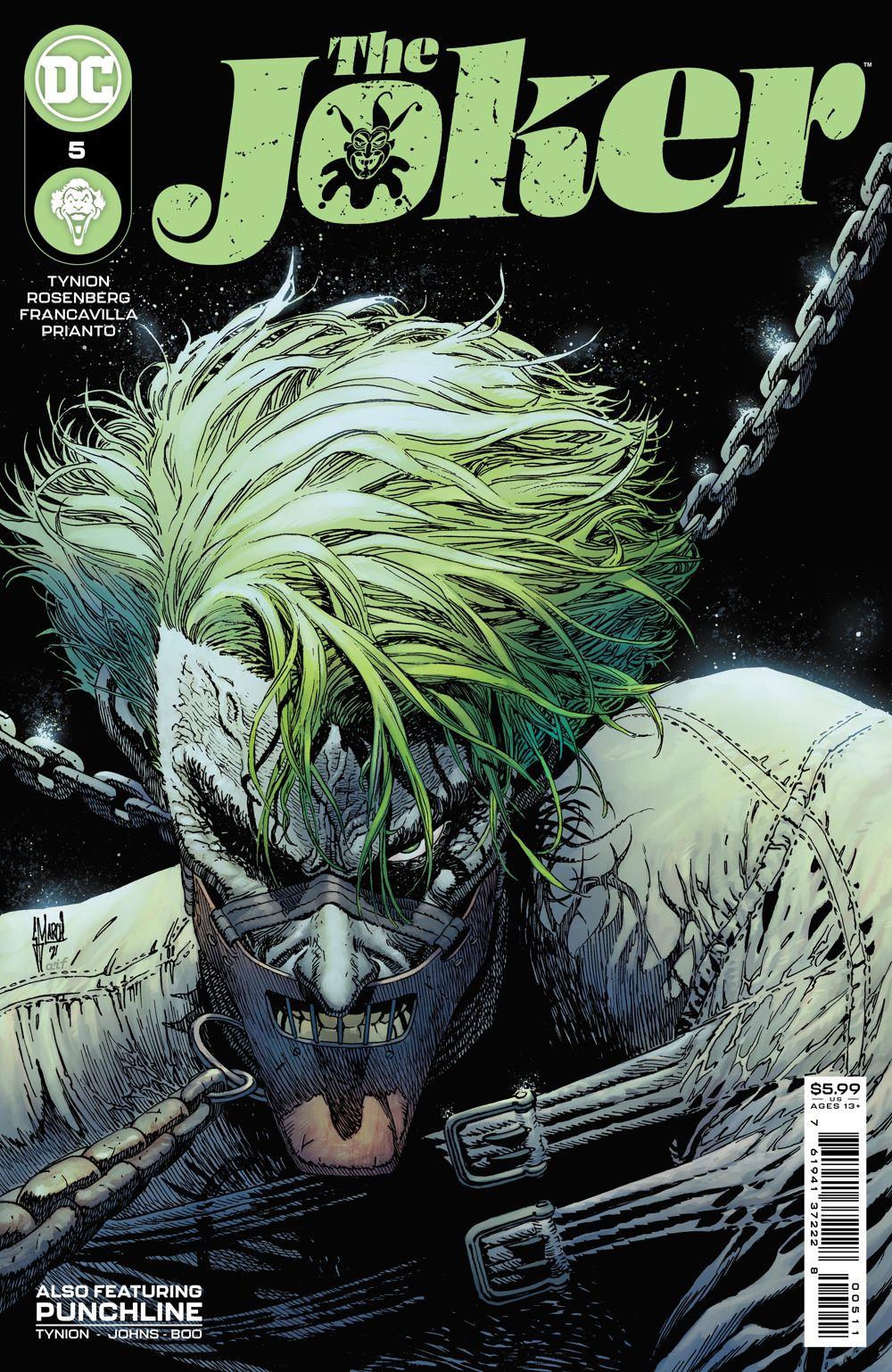THEJOKER_Cv5 DC Comics July 2021 Solicitations