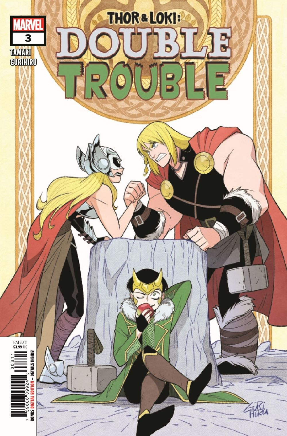 THORLOKIDT2021003_Preview-1 ComicList Previews: THOR AND LOKI DOUBLE TROUBLE #3 (OF 4)