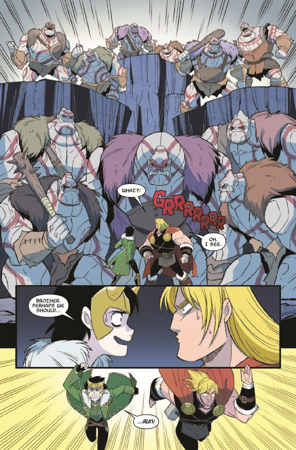 THORLOKIDT2021003_Preview-3 ComicList Previews: THOR AND LOKI DOUBLE TROUBLE #3 (OF 4)