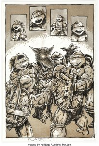 TMNT-7-Page-13-from-1986-sold-for-18000-205x300 What If Eastman and Laird Created TMNT Today?