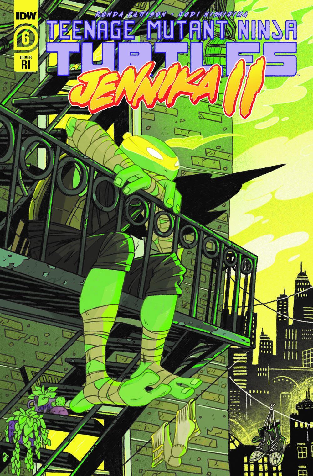 TMNT-Jennik-2 ComicList Previews: TEENAGE MUTANT NINJA TURTLES JENNIKA II #6 (OF 6)