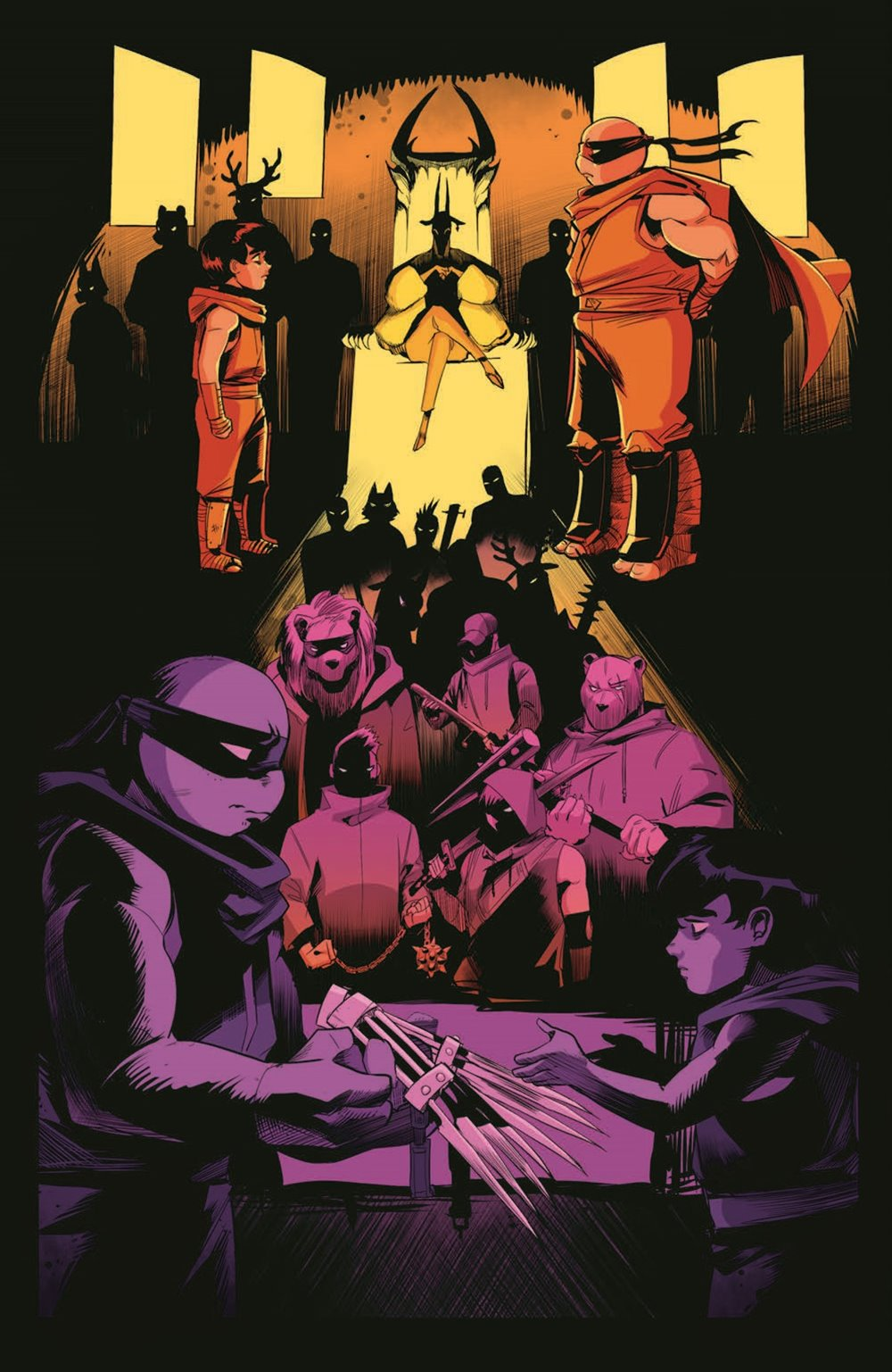 TMNT-JennikaII_06_pr-3 ComicList Previews: TEENAGE MUTANT NINJA TURTLES JENNIKA II #6 (OF 6)