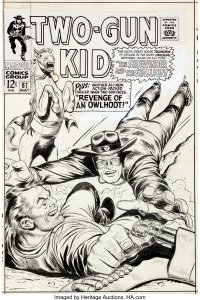 Two-Gun-Kid-87-by-Odgen-Whitney-200x300 Mighty Marvel Western: Attention Disney Plus Executives