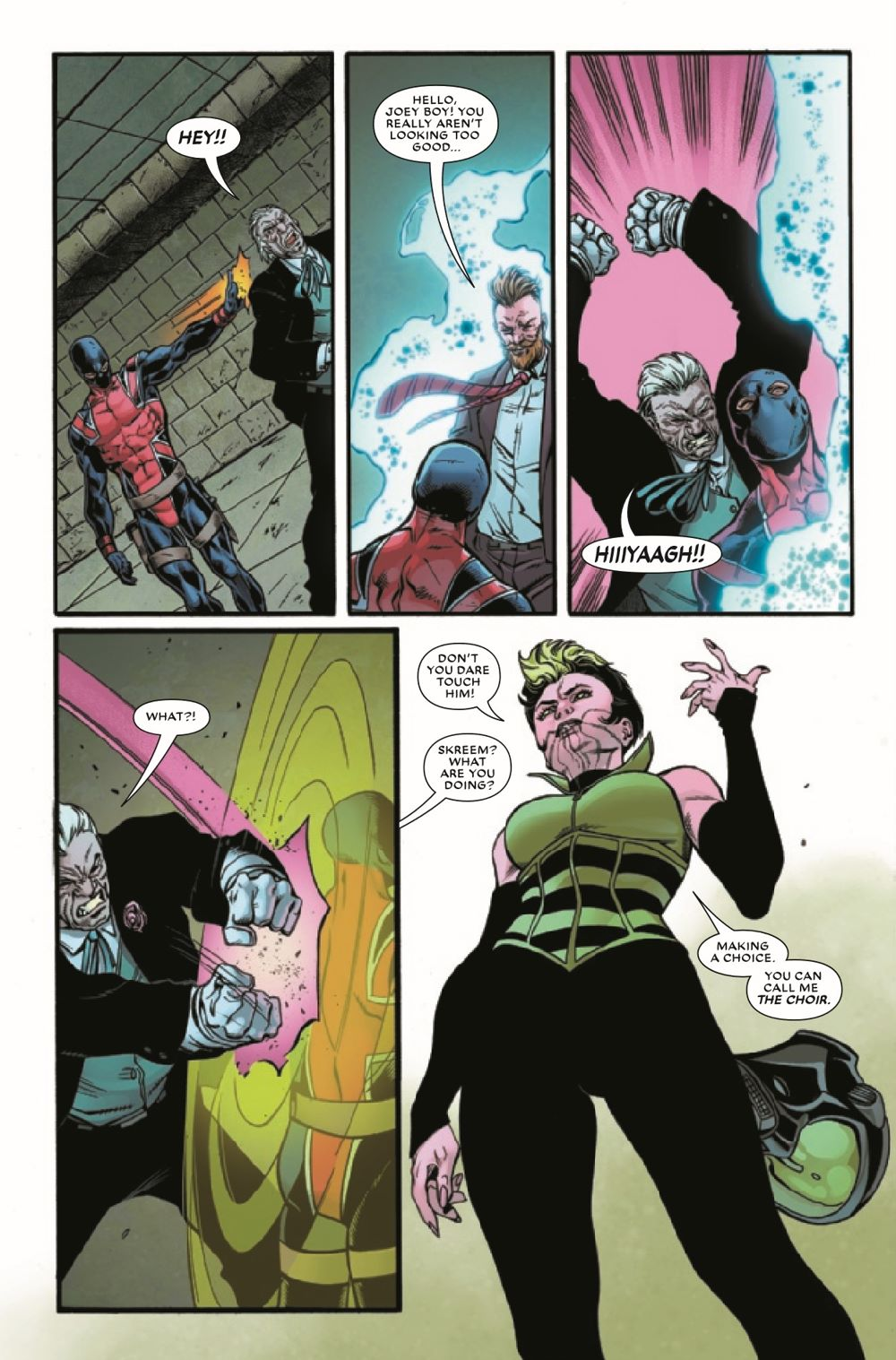 UNION2020005_Preview-5 ComicList Previews: THE UNION #5 (OF 5)