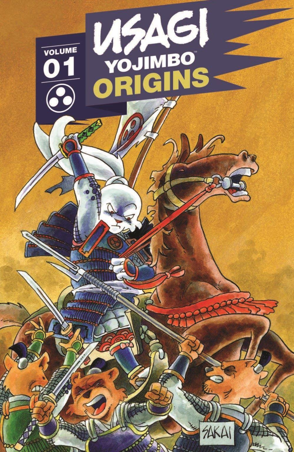 Usagi-Origins-v01-pr-1 ComicList Previews: USAGI YOJIMBO ORIGINS VOLUME 1 SAMURAI TP
