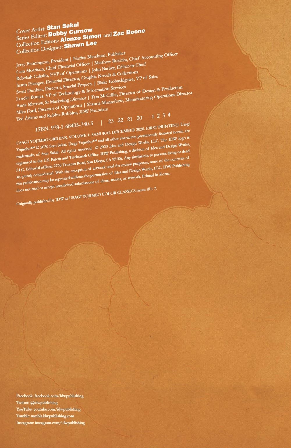 Usagi-Origins-v01-pr-2 ComicList Previews: USAGI YOJIMBO ORIGINS VOLUME 1 SAMURAI TP