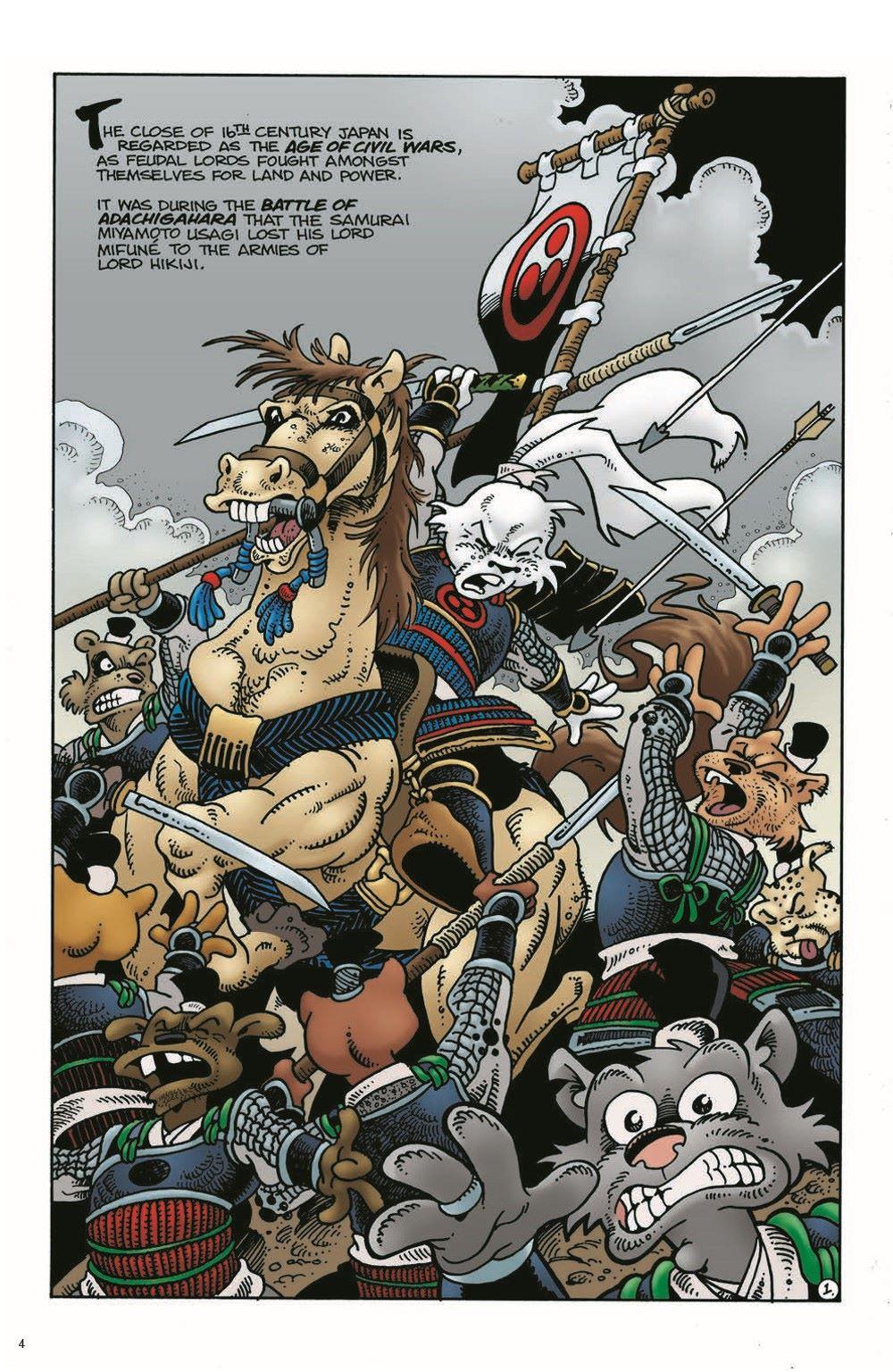 Usagi-Origins-v01-pr-3 ComicList Previews: USAGI YOJIMBO ORIGINS VOLUME 1 SAMURAI TP