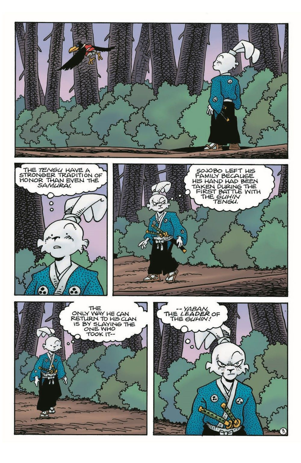 Usagi18_pr-5 ComicList Previews: USAGI YOJIMBO #18