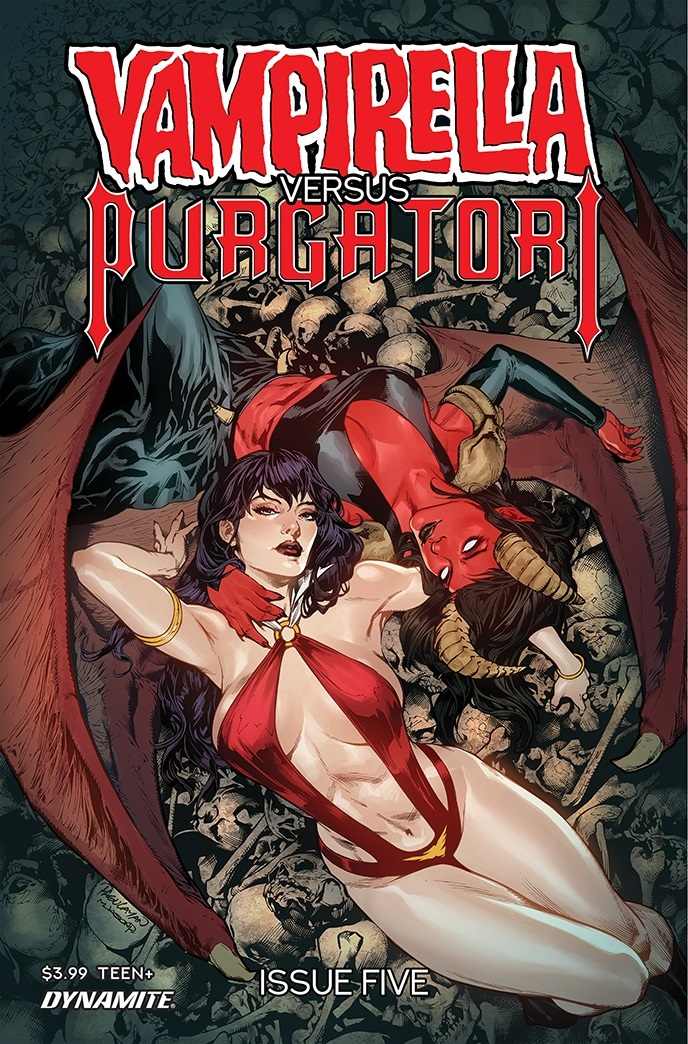 VampiPurgatori-05-05011-A-Pagulayan Dynamite Entertainment July 2021 Solicitations