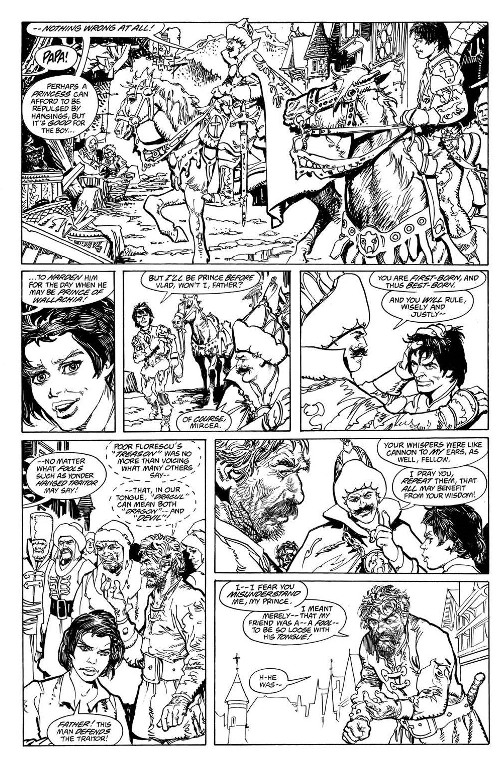 VladTheImpaler_TPB_pr-7 ComicList Previews: DRACULA VLAD THE IMPALER GN