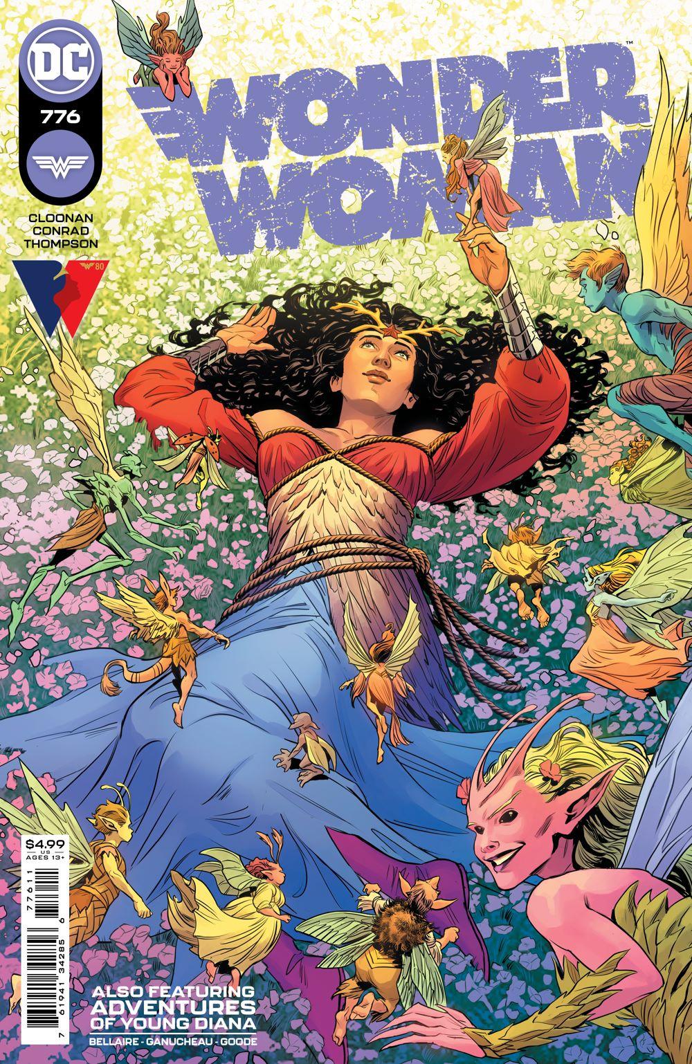 WONDERWOMAN_Cv776 DC Comics July 2021 Solicitations
