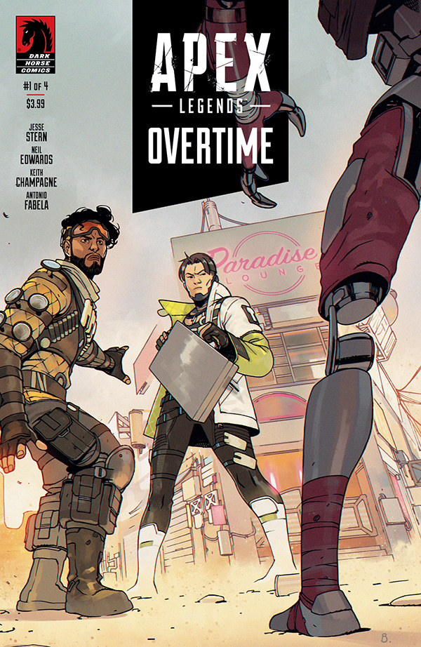 apexotcov A video-game becomes a comic in APEX LEGENDS: OVERTIME