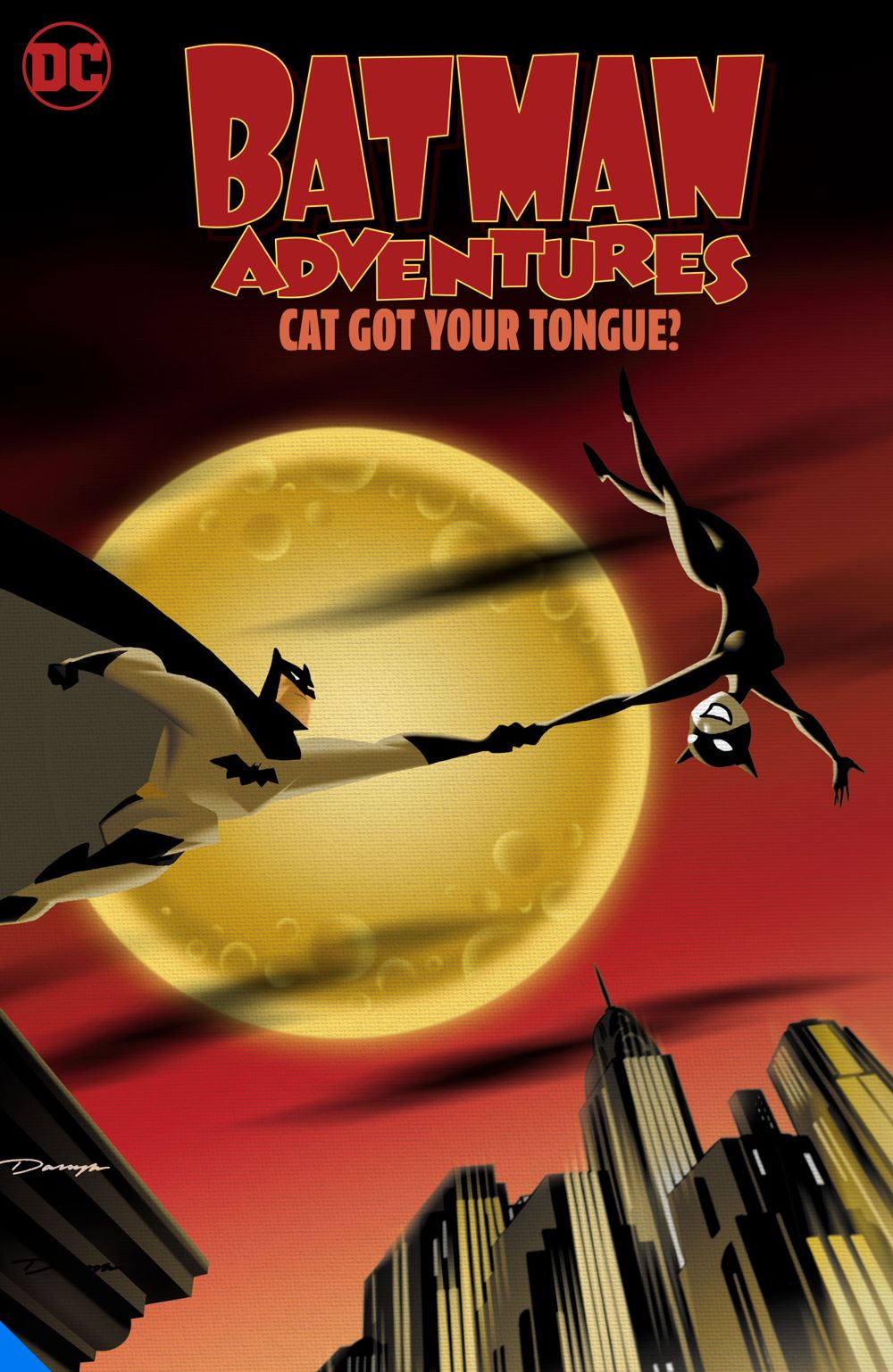 batmanadventurescatgotyourtongue_adv DC Comics July 2021 Solicitations