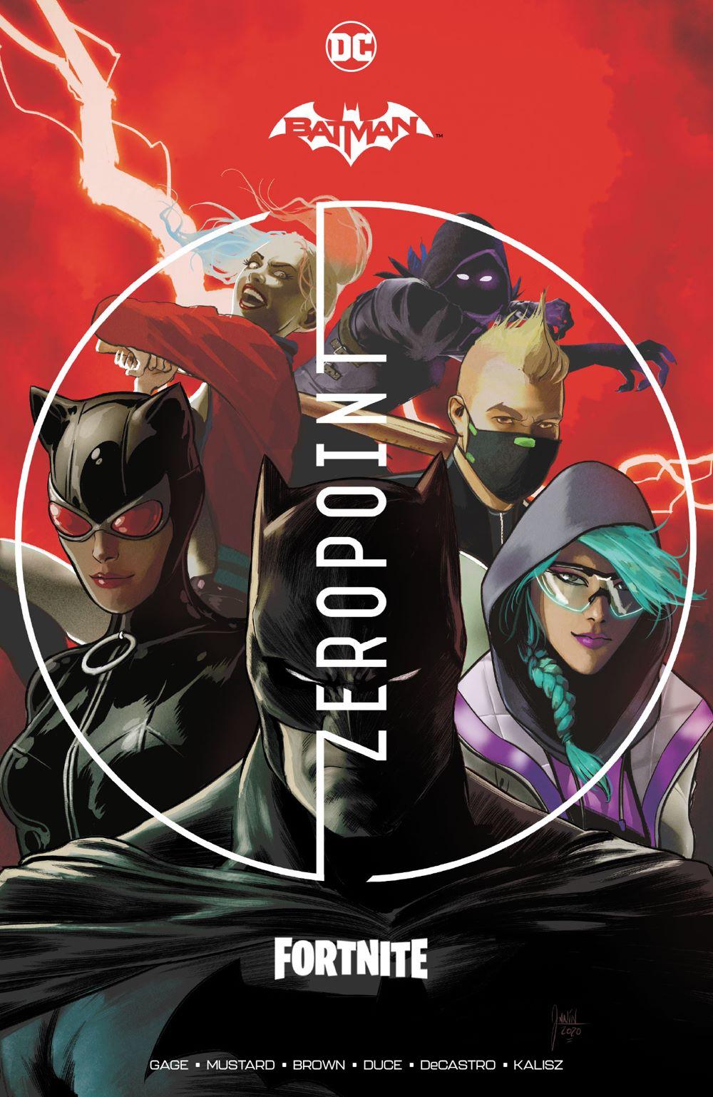batmanfortnitezeropoint_adv DC Comics July 2021 Solicitations