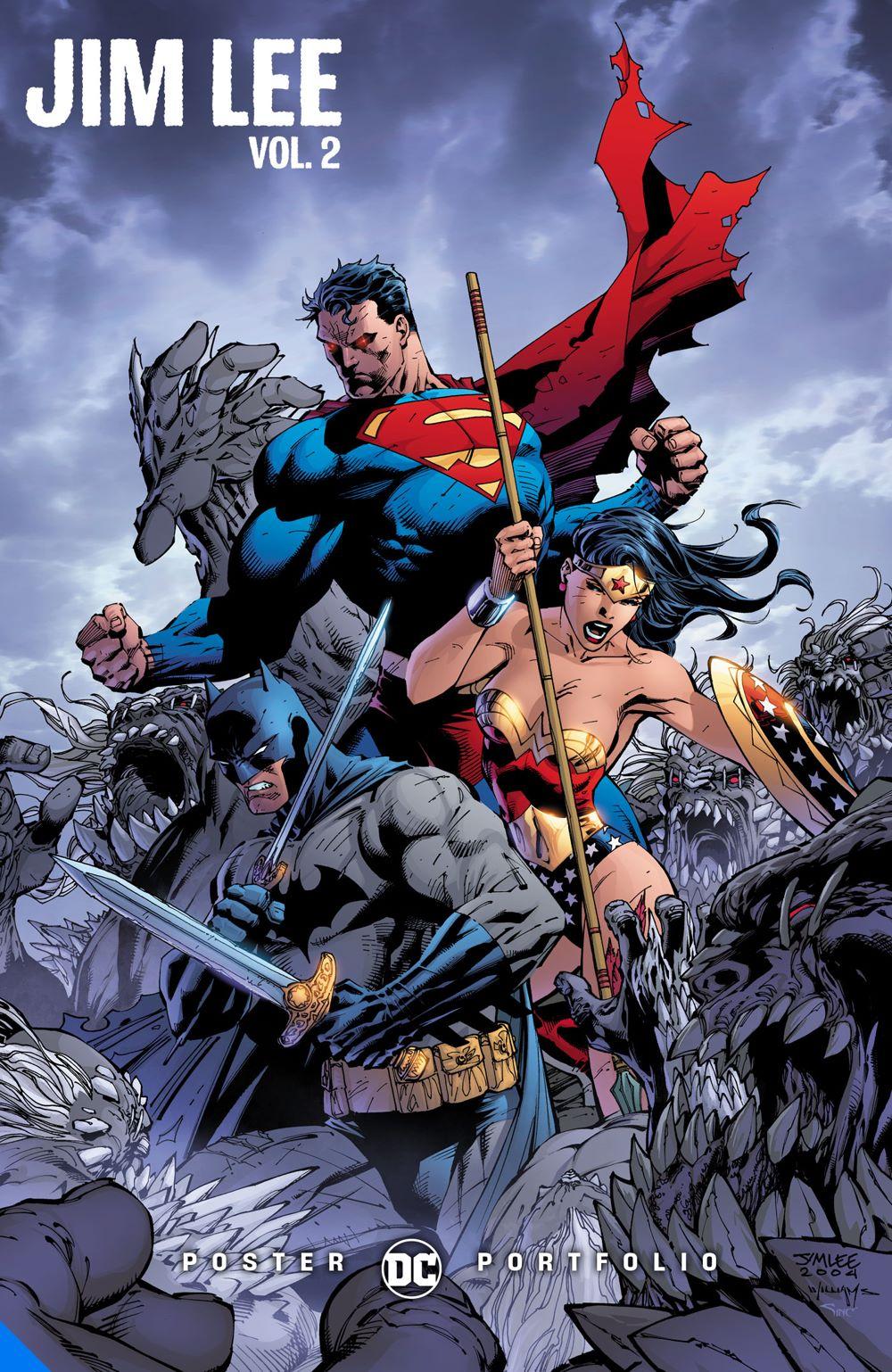dcposterportfoliojimlee-vol2_adv DC Comics July 2021 Solicitations