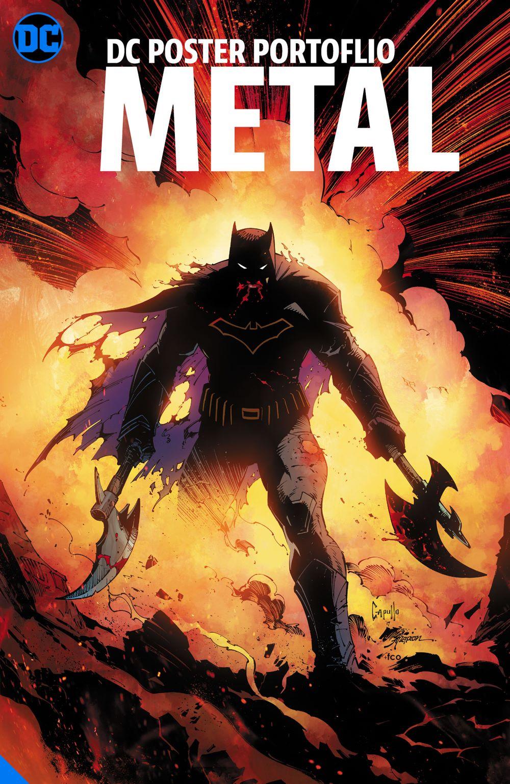 dcposterportfoliometaladv DC Comics July 2021 Solicitations