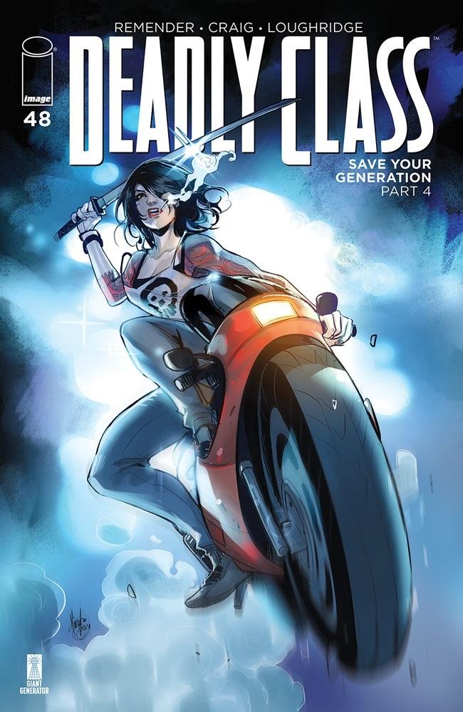 deadlyclass_48b Image Comics July 2021 Solicitations