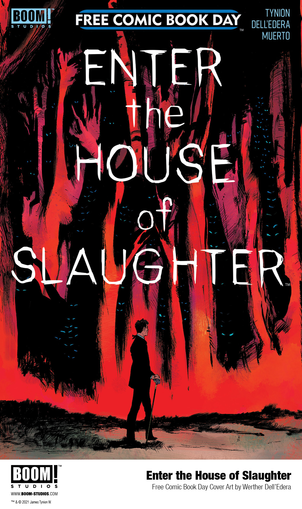 fe9a1ef5-e7de-42a4-9e39-26d632c04672 ENTER THE HOUSE OF SLAUGHTER 2021 FCBD SPECIAL cover revealed