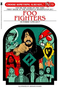 foo-fighters-200x300 Magic: The Gathering In The Style of Concert Posters - Our Show Is On Friday, Can You Make It?