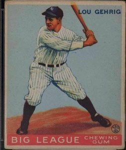 lou-253x300 Sports Cards Collecting Class #5: 1933 Goudey is a Game Changer!