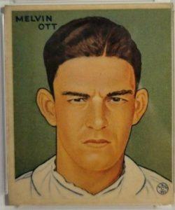mell-ott-4-2-e1618512172520-250x300 Sports Card Collecting 101 Class #6: 1933 Goudey