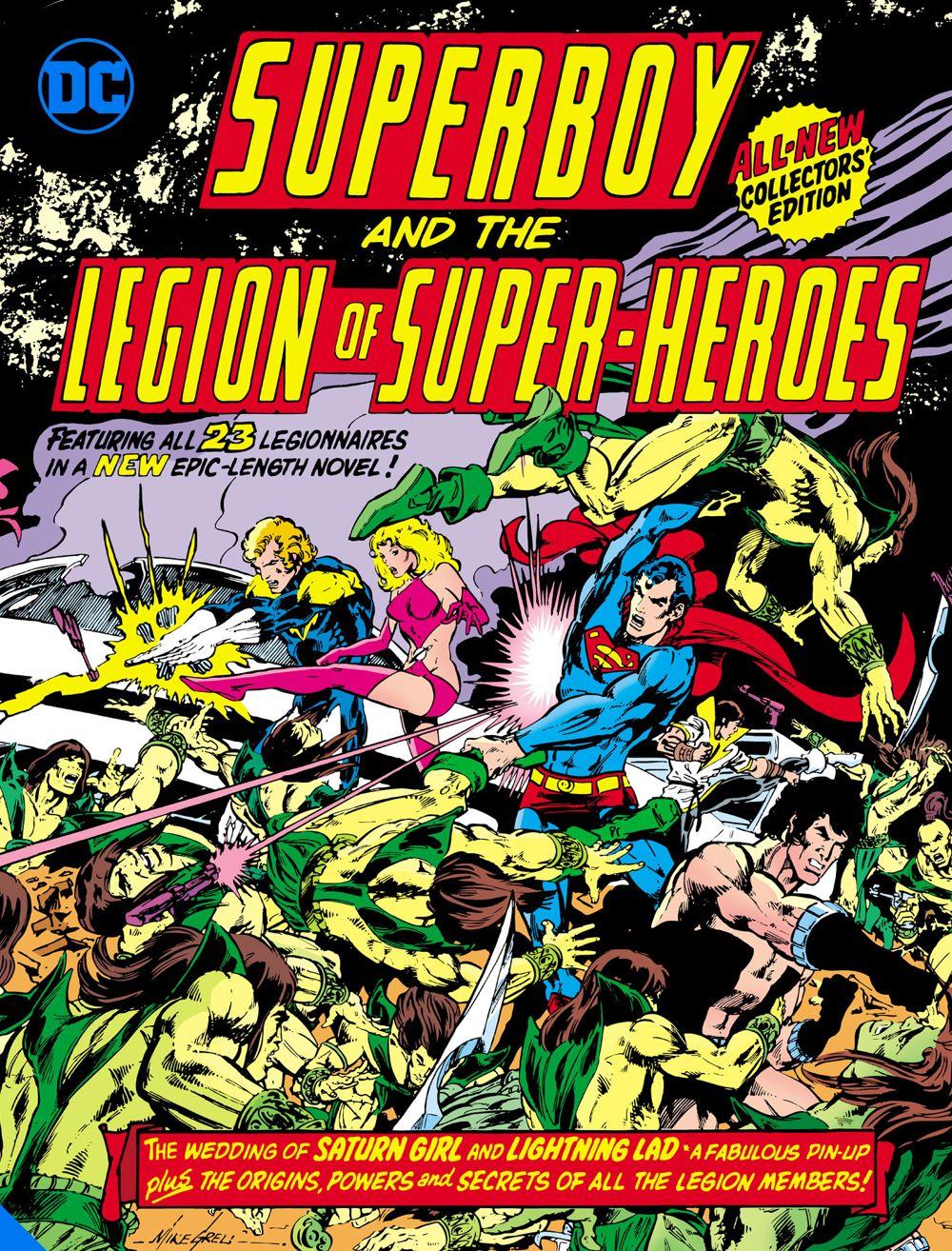 superboyandthelegionofsuperheroestabloid_adv DC Comics July 2021 Solicitations