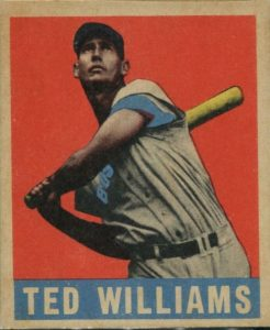 ted-williams-e1619804118316-246x300 Sports Card Collecting 101: 1948-49 Leaf Baseball Is A No-Brainer!