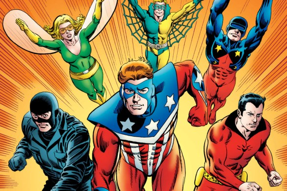 64ae51ed-28c7-479c-80fc-de269a422717 Writer David Gallaher to script THE MIGHTY CRUSADERS: THE SHIELD