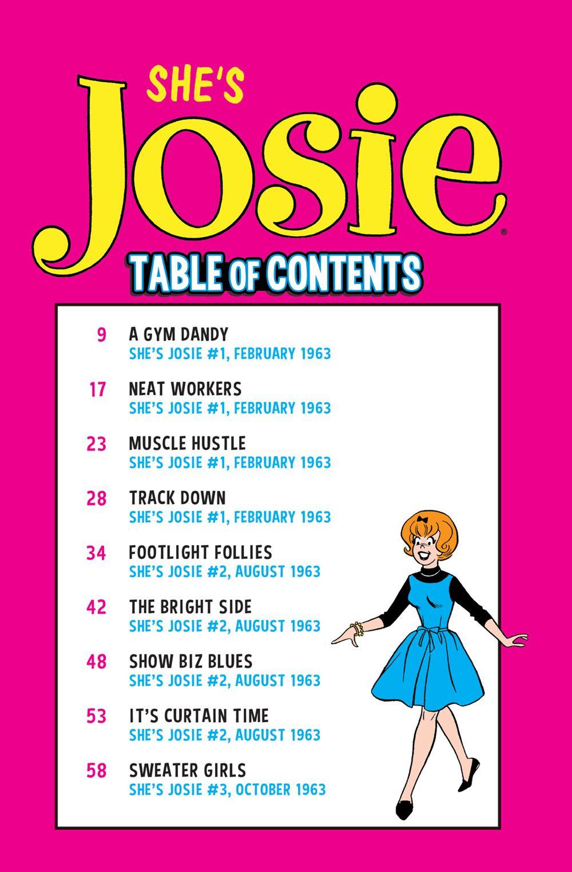 ACP-ShesJosie-8 ComicList Previews: SHE'S JOSIE TP