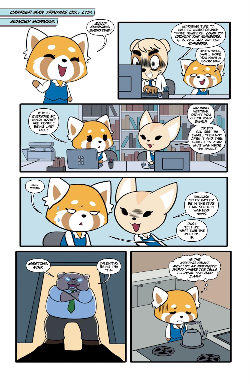 AGGRETSUKO-MHW-2-MARKETING-04-1 ComicList Previews: AGGRETSUKO MEET HER WORLD #2