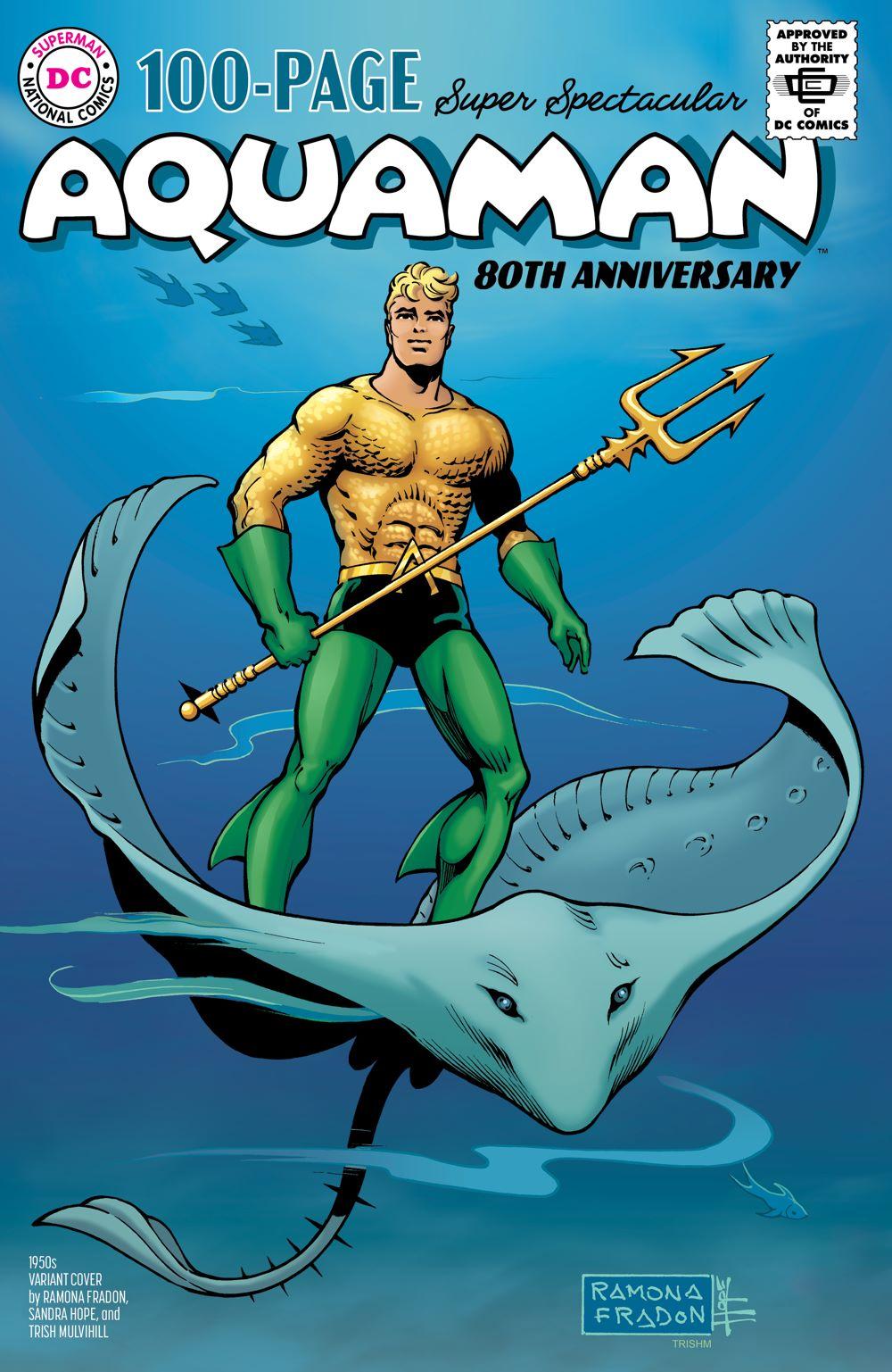 AQM_80THANN_Cv1_1950s_var DC Comics August 2021 Solicitations