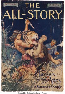 All-Story-October-1912-1st-Appearance-of-Tarzan-208x300 Tarzan on the Planet of the Apes: So Obvious