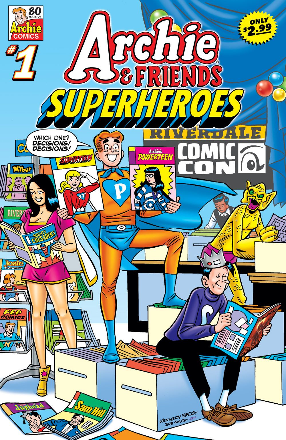 ArchieAndFriends_Superheroes_Cover_Kennedy ComicList Previews: ARCHIE AND FRIENDS SUPERHEROES #1