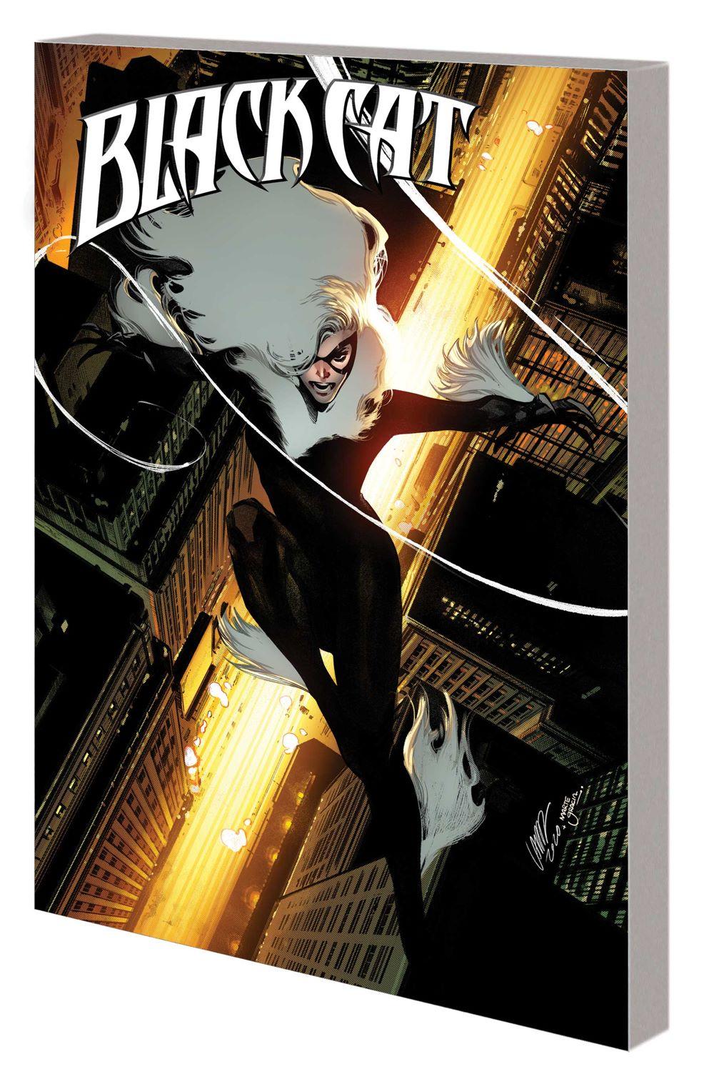 BLACKCAT_VOL_5_TPB Marvel Comics August 2021 Solicitations